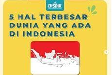 5 Hal Terbesar di Dunia yang Ada di Indonesia