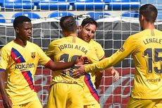 Hasil Lengkap Liga Spanyol - Barcelona Pesta Gol, Real Madrid Gagal Sempurna
