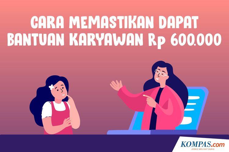 Cara Memastikan Dapat Bantuan Karyawan Rp 600.000