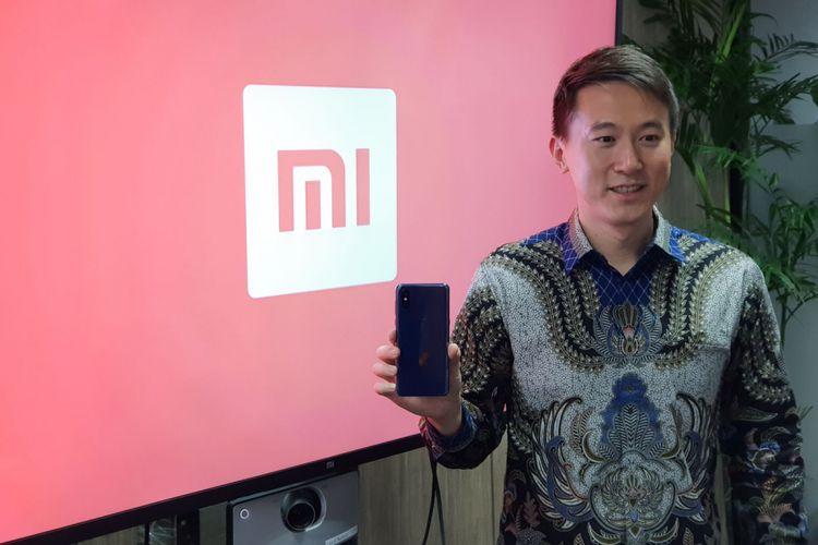 Chew Souzi, Chief Finance Officer Xiaomi Global berbincang dengan KompasTekno di kantor Xiaomi Indonesia, Senin (5/11/2018).