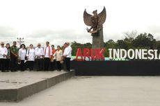 Jokowi Menilai Tiga Pos Perbatasan di Kalbar Paling Megah dan Mewah