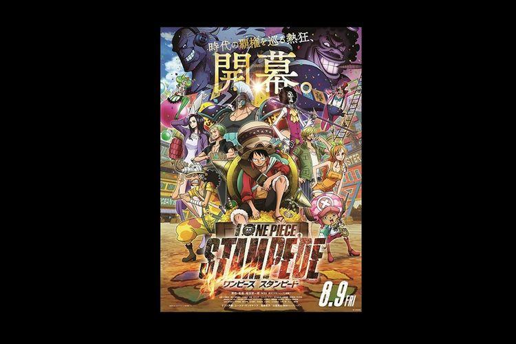 Poster film One Piece: Stampede.
