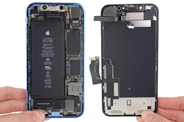 Jerona iPhone XR dibongkar.