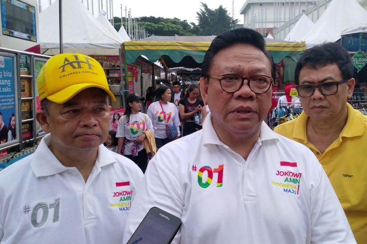 Ketua Dewan Pakar Partai Golkar Agung Laksono.