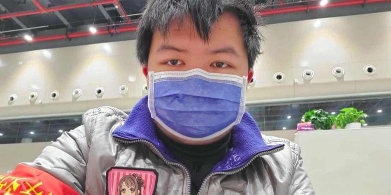 Tiger Ye, pemuda berusia 21 tahun dari Wuhan yang sembuh dari infeksi Corona.
