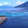 Video Viral Muncul Pusaran Arus Laut di Alor, NTT, Ini Penjelasannya