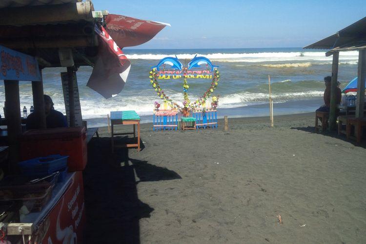 Lokasi Pantai Depok, Bantul, Yogyakarta