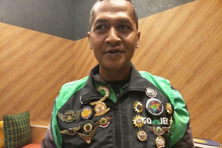 Retnawan Djoko Purnomo di kantor Gojek, Pasaraya Blok M, Jakarta Selatan, Jumat (28/9/2018) siang.