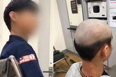 Ibu Ini Cukur Rambut Anaknya ala Bapak-bapak agar Tidak Keluyuran Saat Pandemi