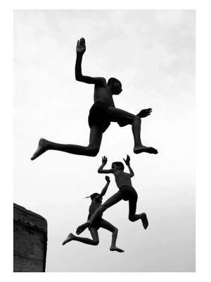 Karya Dimpy Bhalotia berjudul Flying Boys