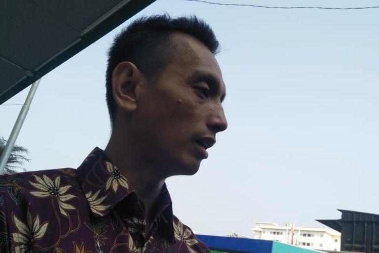 Anggota Panitia Seleksi Calon Pimpinan Komisi Pemberantasan Korupsi (KPK), Al Araf,di RSPAD Gatot Subroto, Jakarta Pusat, Senin (26/8/2019).