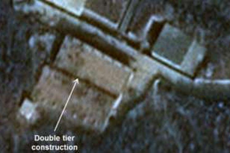 Gambar satelit Airbus Defense Space dan 38 North tentang Stasiun Peluncuran Satelit Sohae. Foto tahun 2015.