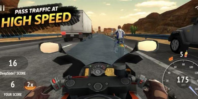 Game Motor Highway Ridder