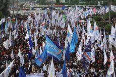 1.995 Aparat Gabungan Dikerahkan Kawal Aksi Buruh di Istana