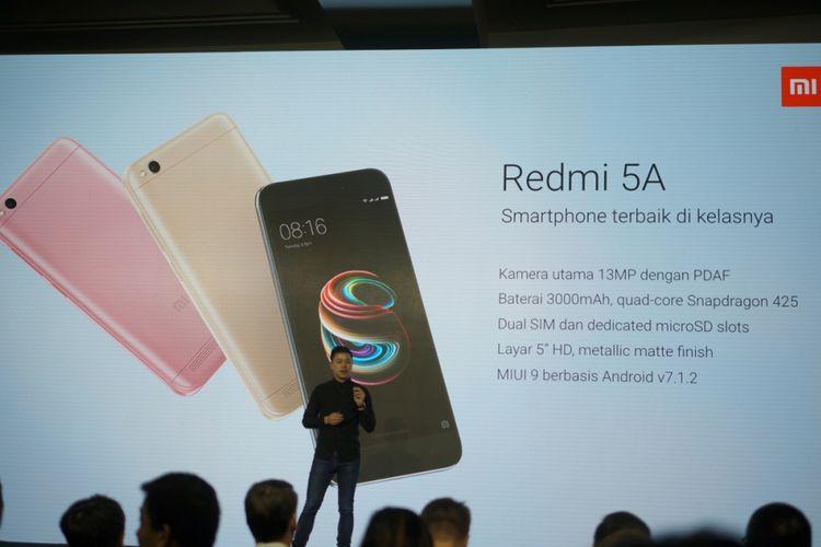 Spesifikasi Redmi 5A