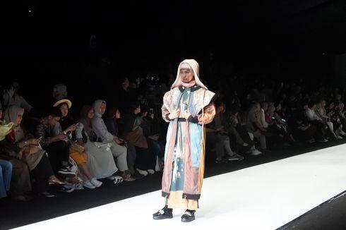 """Matrix Experience"", Kolaborasi Desain Futuristik dan Cetak Tekstil Digital"