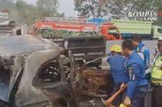 Seorang Warga Sunter Agung Jadi Korban Meninggal dalam Kecelakaan Tol Cipularang