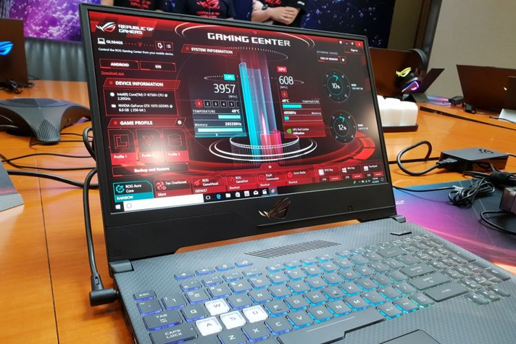 Laptop ROG Asus terbaru, Strix Scar II.