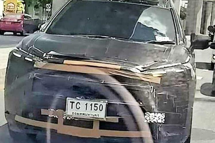 Spyshot Toyota Corolla Cross