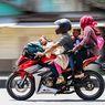 Ingat Lagi Bahaya Bonceng Anak di Jok Depan Motor