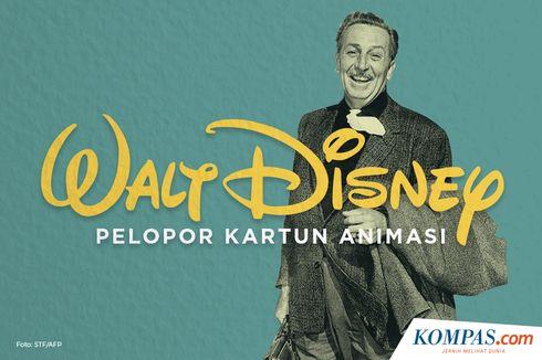 4 Fakta Unik Walt Disney, Pelopor Kartun Animasi
