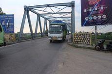 Usia Jembatan Ploso di Jombang Makin Tua, Kendaraan Berat Dilarang Melintas