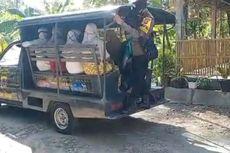 Lansia dari Desa-desa di Kulon Progo Dijemput Polisi untuk Divaksin
