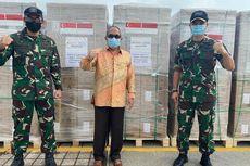 Yayasan Temasek Singapura Salurkan 11,65 Juta Masker ke Indonesia Perangi Covid-19