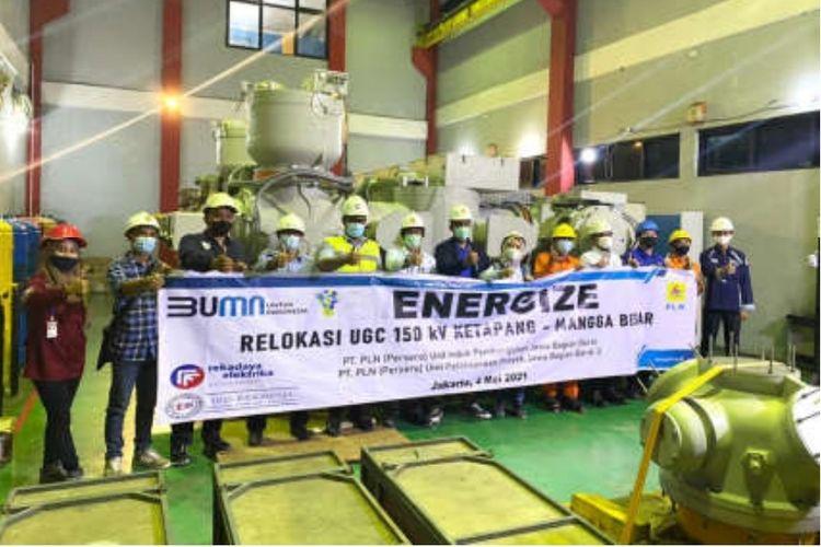 Dukung Pembangunan MRT Jakarta Fase 2, PT PLN Berhasil Relokasi Underground Cable (UGC) 150 kV Ketapang ? Mangga Besar