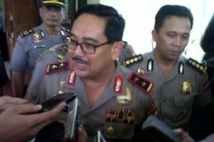 Kapolda Sulselbar, Inspektur Jendral (Irjen) Polisi Burhanuddin Andi