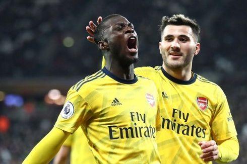 Dianggap Terlalu Mahal, Transfer Nicolas Pepe Diselidiki Arsenal