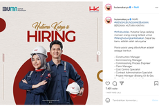 Lowongan Kerja di BUMN Hutama Karya, Berminat?