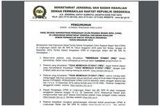 Setjen DPR Umumkan Seleksi Administrasi CPNS 2019, 319 Pelamar Lolos