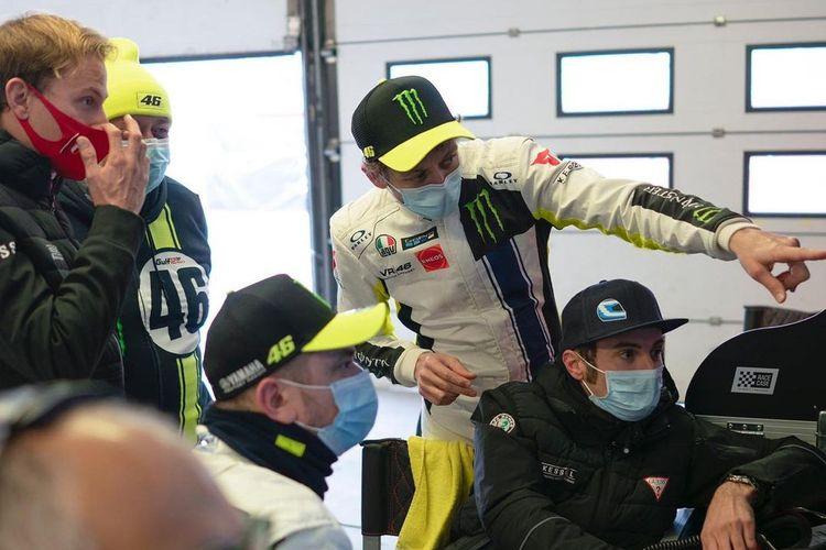 Valentino Rossi mulai latihan dengan Ferrari 488 GT3 untuk persiapan mengikuti Gulf 12 Hours