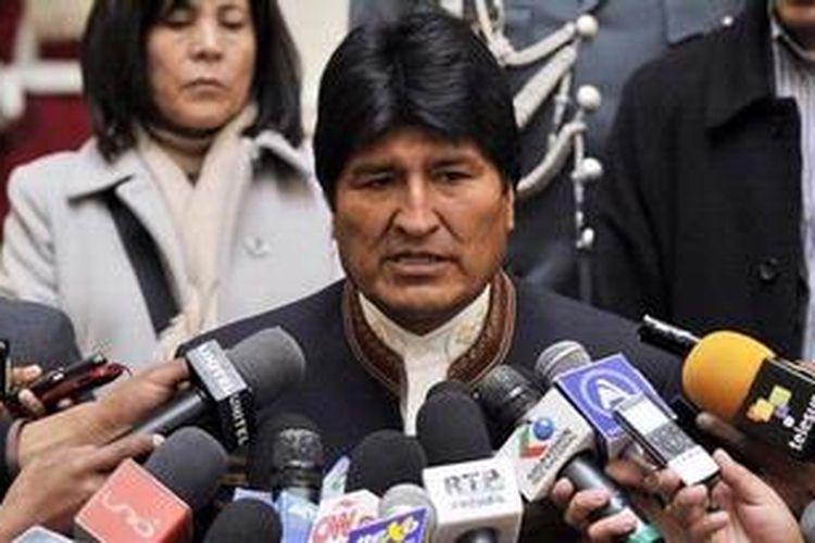 Presiden Bolivia Evo Morales.