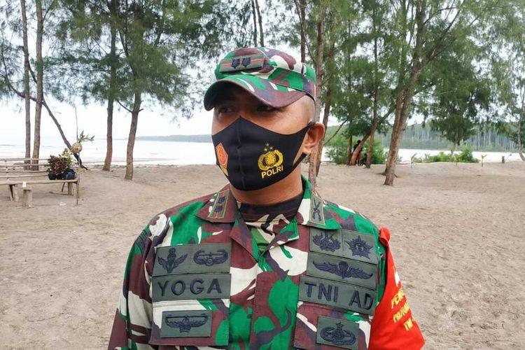 Dandim 1710/ Mimika Letkol Inf. Yoga Cahya Prasetya