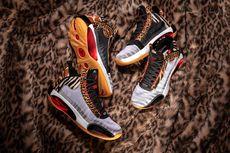 Air Jordan 34 Player Edition, Motif Kebun Binatang dalam Sneaker