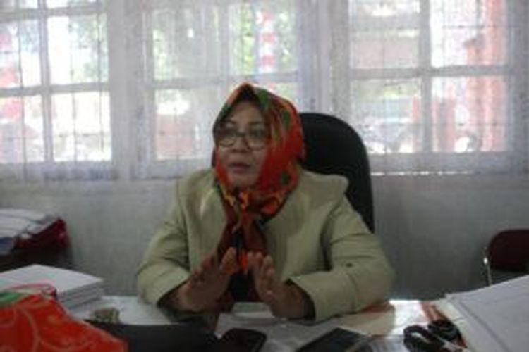 Ketua KPU Nunukan Dewi Sari Bahtiar, krisis listrik jelang pelaksanaan pilkada 20150 dipastikan mengganggu pelaksanaan tahapan pilkada.