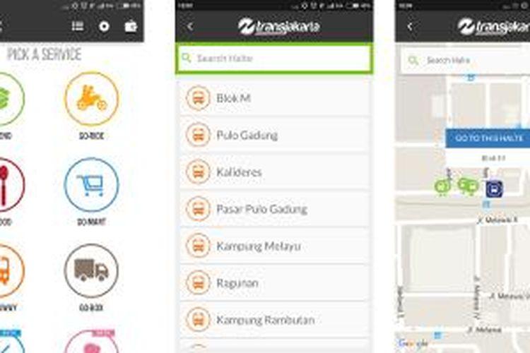 Layanan Transjakarta Go Busway Sudah Ada Di Aplikasi Go Jek