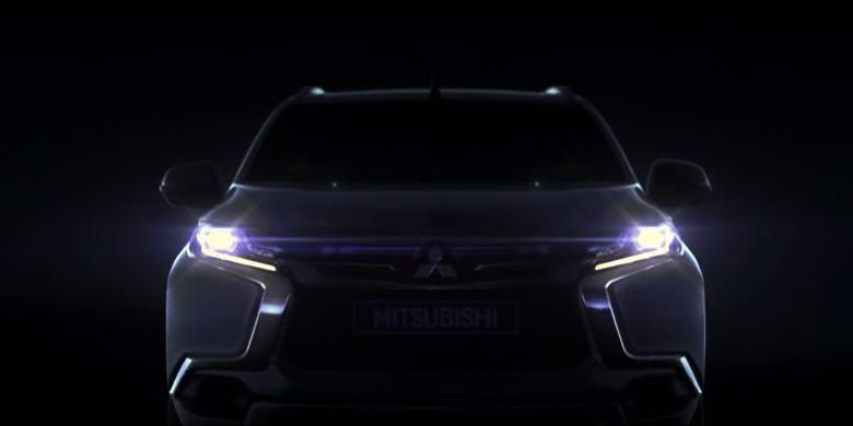Krama Yudha Tiga Berlian Motors merilis teser perdana Mitsubishi All-New Pajero Sport.