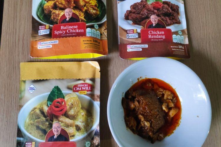 Makanan siap santap Pawon Om Will.