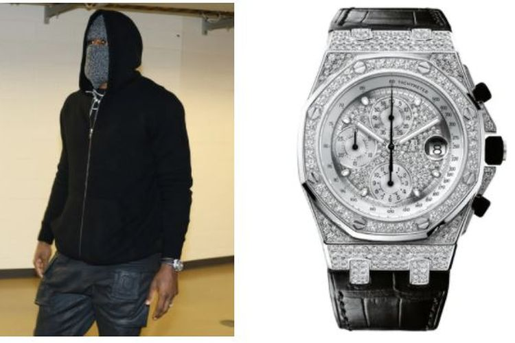 LeBron James dengan jam tangan Audemars Piguet