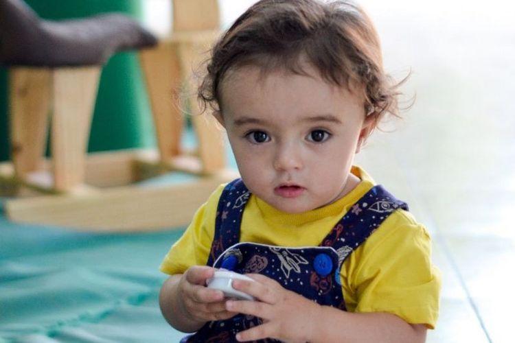 Lucas (1 tahun) yang meninggal karena Covid-19 yang terlambat dites dan ditangani hingga alami komplikasi. [Dok.Jessika Ricarte Via BBC Indonesia]