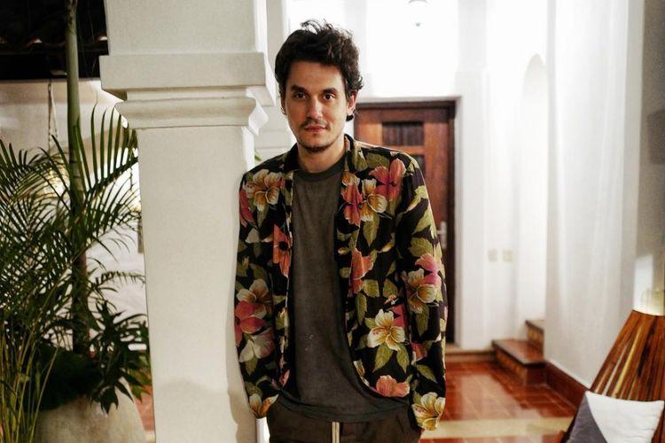Penyanyi solo asal AS, John Mayer.