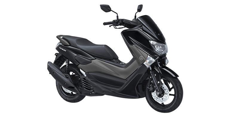 Warna hitam Yamaha NMAX ada yang berbeda.