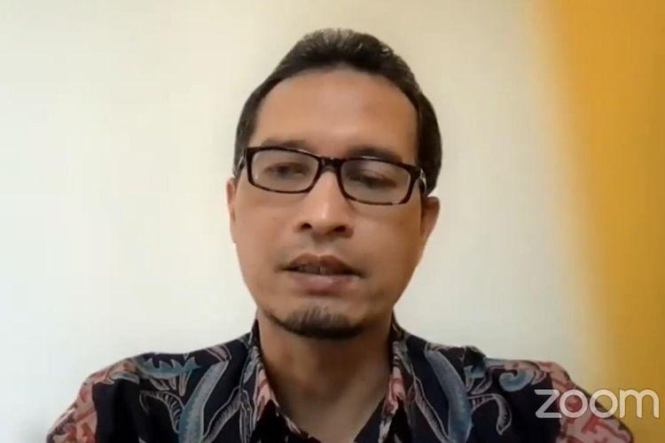 Direktur PTVP Kemendikbud Ristek Beny Bandanadjaya dalam acara ?Sosialisasi Program Dana Padanan Kampus Vokasi (Matching Fund Vokasi) 2021? di kanal Youtube Direktorat Pendidikan Tinggi Vokasi Kemendikbud, Kamis (3/6/2021).