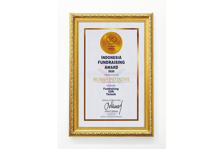 Penghargaan untuk Human Initiative