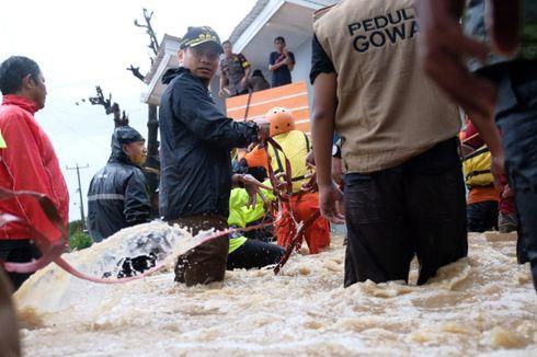 Banjir Surut, Jumlah Pengungsi Gowa Mulai Berkurang