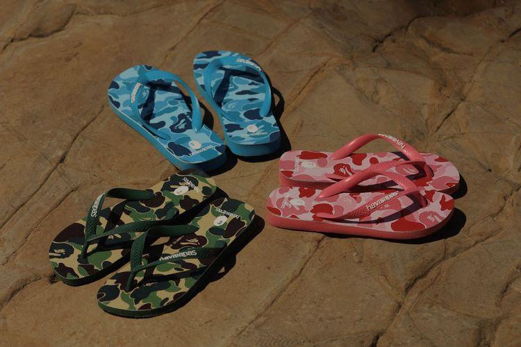 Varian warna model Top Havaianas x A Bathing Ape (Havaianas)