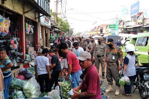 82 Lapak Pedagang Liar di Kawasan Pasar Serpong Dibongkar Satpol PP